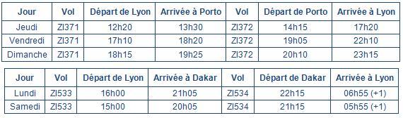 Aigle Azur lance Porto et Dakar au départ de Lyon Saint-Exupéry