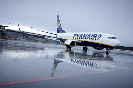 Ryanair a engrangé 103 millions d'euros de bénéfices au 3e trimestre 2015/2016 - Photo : Ryanair