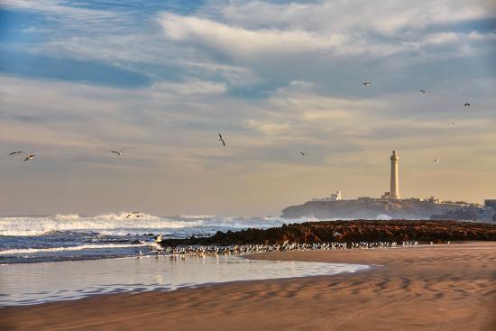 Une situation enviable, sur la plage de Casablanca, en contrebas de la célèbre Corniche - DR