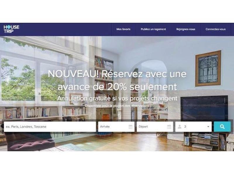 Housetrip veut rendre la location de vacances aussi facile et sécurisée qu'un séjour à l'hôtel - (c) Capture Housetrip