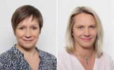 Chrystelle Hamel et Elodie Petrus - DR