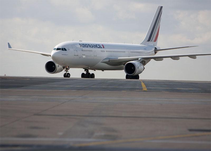 Baisse du prix du pétrole, les compagnies américaines ont baissé leurs tarifs, et Air France ?Photo AF Virginie Valdois
