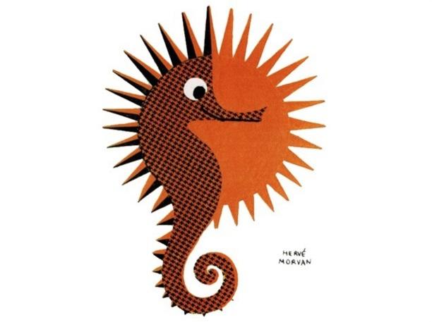 Le réseau Selectour choisira, à la demande de Philippe Demonchy, l'hippocampe comme emblème - DR : Hervé Morvan Selectour