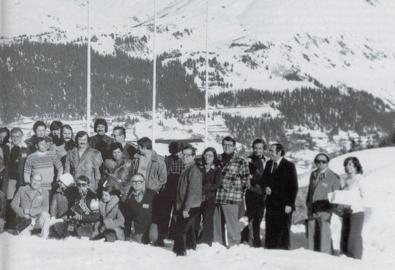 En 1975, Le premier congrès est organisé aux Arcs - DR : Selectour