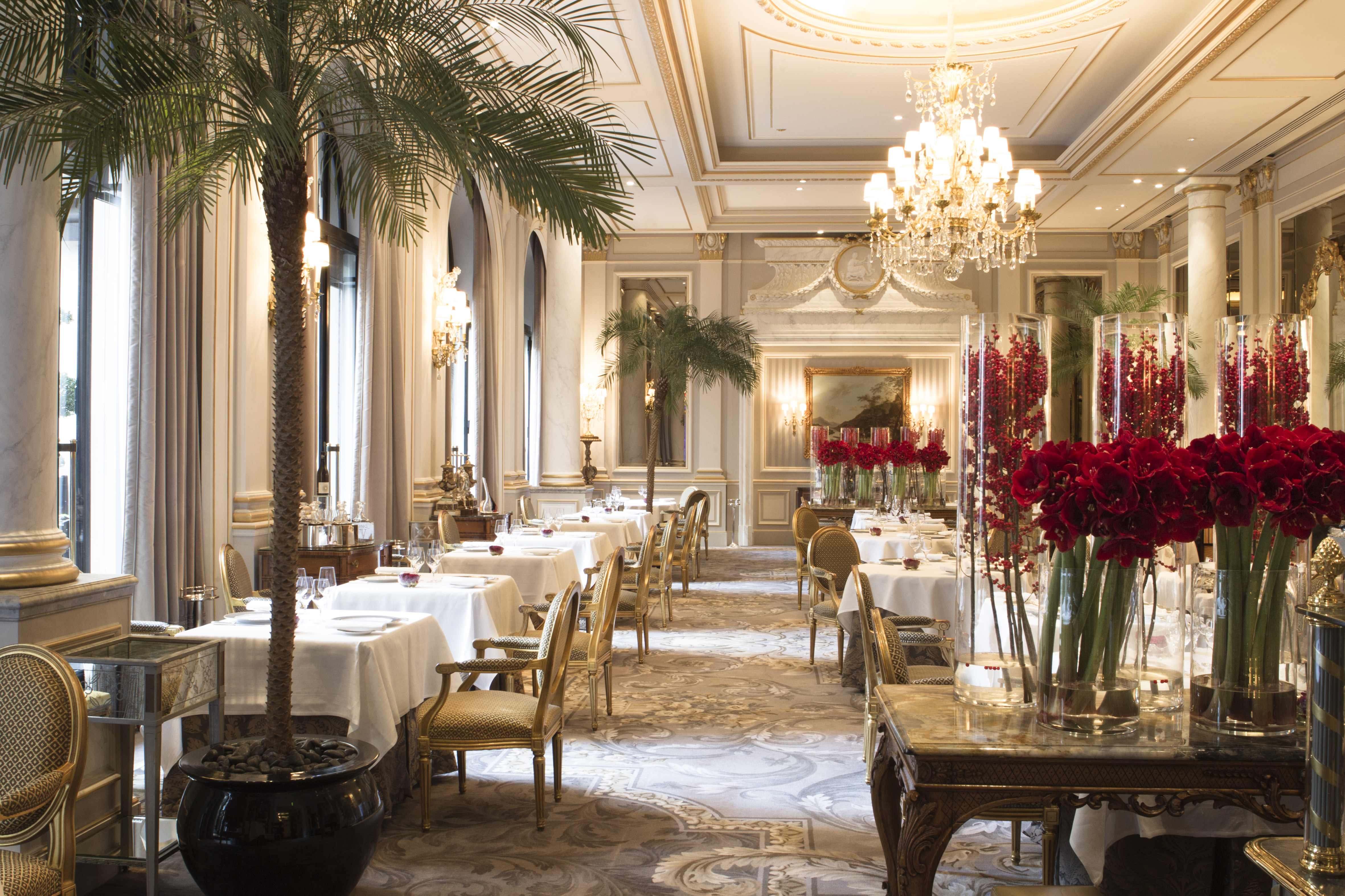 Restaurant Le Cinq-Paris 8th arrondissement