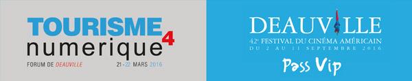 La 4ème édition du Forum B2B du Tourisme numérique de Deauville se tiendra les 21 et 22 mars 2016 au Centre International de Deauville