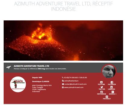Azimtuh Travel est désormais référencé sur DMCMag.com - Capture d'écran