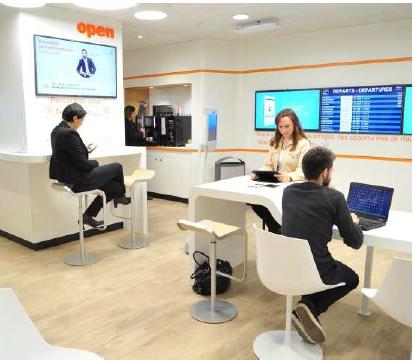 Les nouveaux espaces Business d'ADP verront le jour d'ici fin 2016 à Roissy et Orly - Photo : Aéroports de Paris