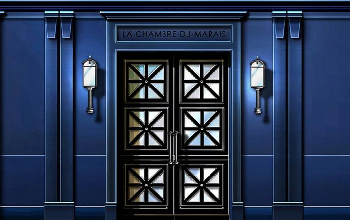 Les portes de La Chambre du Marais s'ouvriront fin mai 2016 à Paris - Photo : La Chambre du Marais