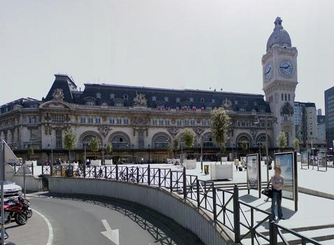 Un accident de personne a entraîné l'interruption du trafic à la Gare de Lyon, à Paris - DR : Google Street View