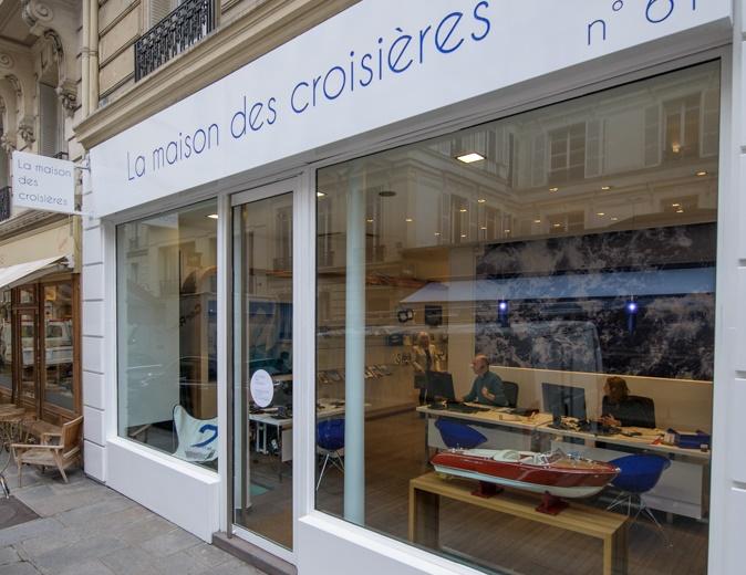 L'agence La Maison des Croisières ouverte il y a une semaine par Travel Lab (Kuoni) est entièrement dédiée aux croisières - Photo Alexandre Nestora