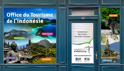 L 39 indon sie ouvre son office national du tourisme paris - Office national du tourisme ...