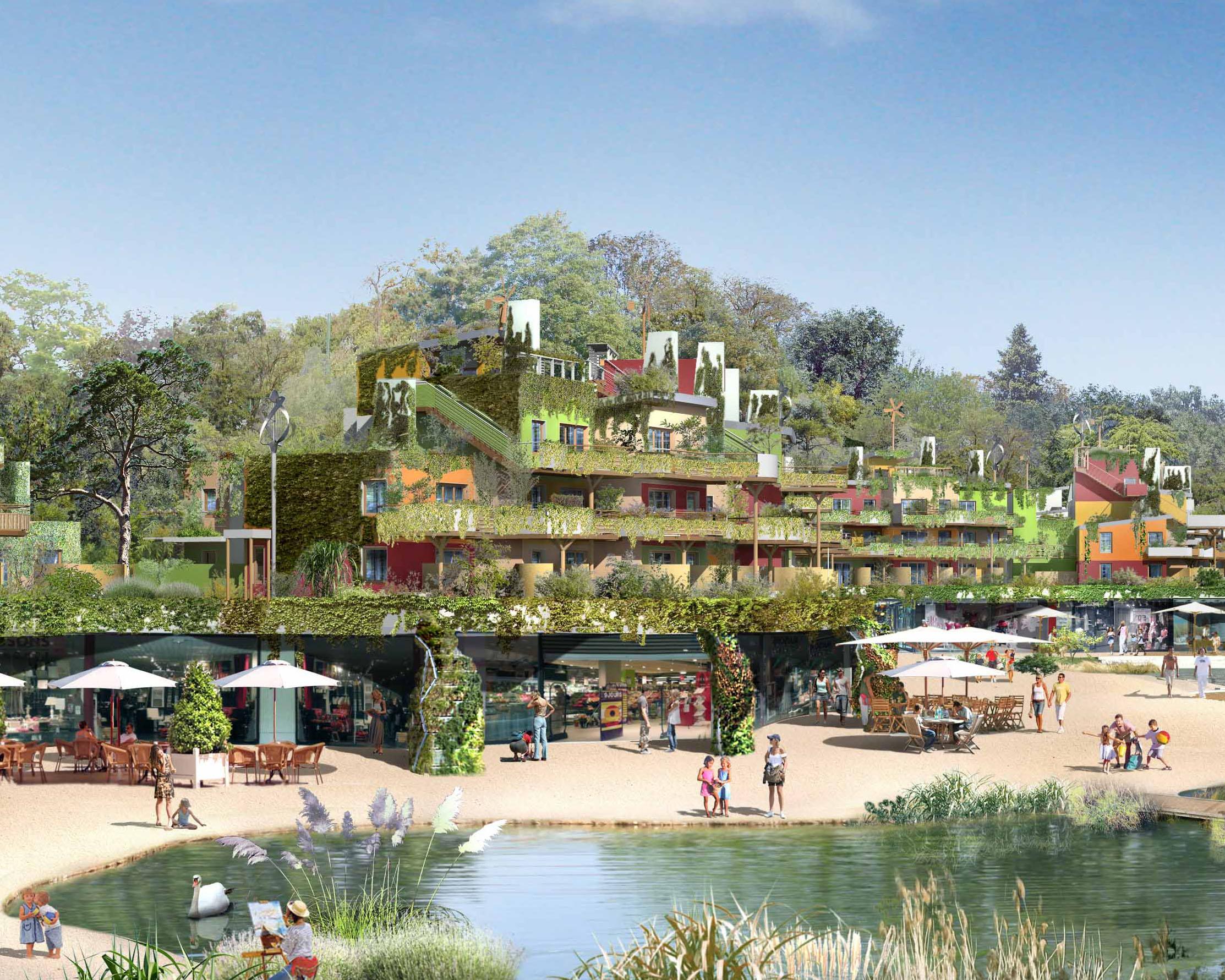 Maquette de Villages Nature Paris