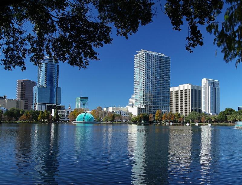 La Skyline d'Orlando en Floride - Photo Fotolia Auteur : jccain