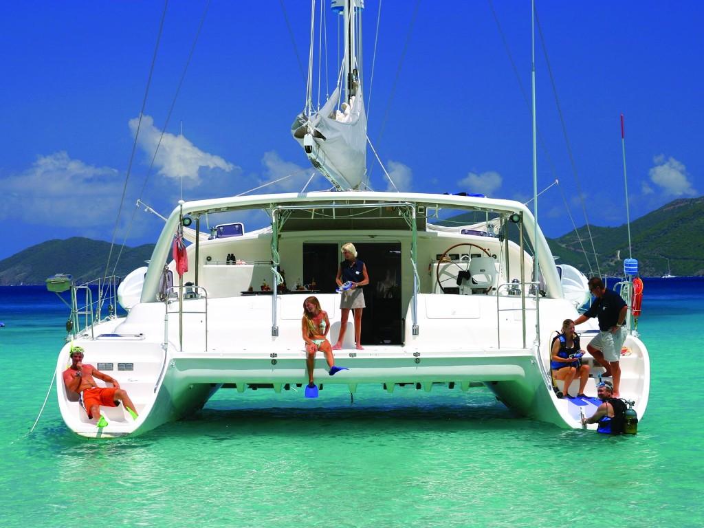 Charter-yacht