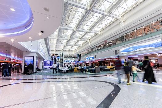 Le Hall D de l'aéroport international de Dubaï a ouvert ses portes le 24 février 2016 - Photo : Dubai Airports