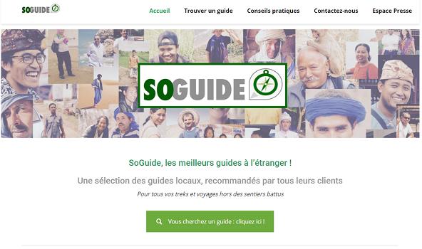 SoGuide permet aux voyageurs de profiter de tarifs plus bas - Capture d'écran