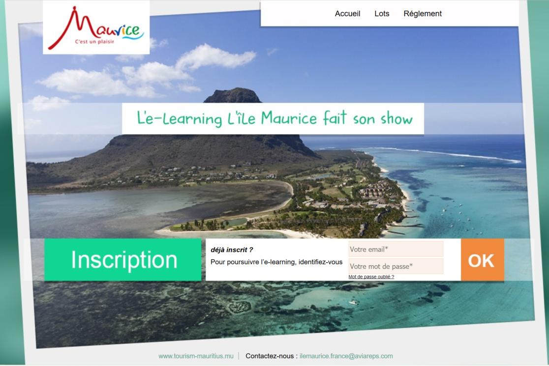 Le programme de formation en ligne se nomme L'île Maurice fait son show et il sera accessible aux agents de voyages et à tous ceux qui souhaitent améliorer leurs connaissances sur la destination - Cliquez sur l'image pour accéder à l'elearning - DR