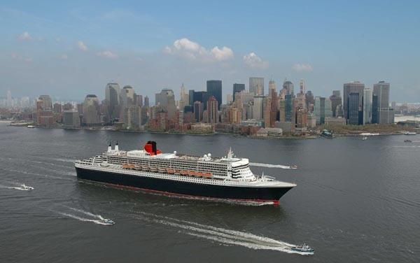 Le Queen Mary II effectuera deux croisières thématiques entre New-York et Cherbourg cet été