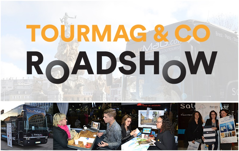 Le TourMaG & Co Roadshow reprendra la route du 18 au 22 avril 2016 dans le Nord-Ouest - Photo DR