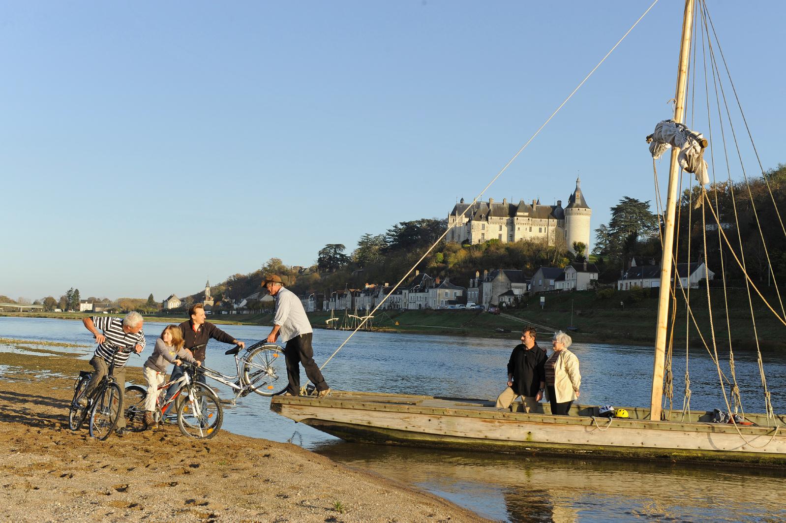 Loire à vélo-Chaumont sur Loire (photo: Damase)