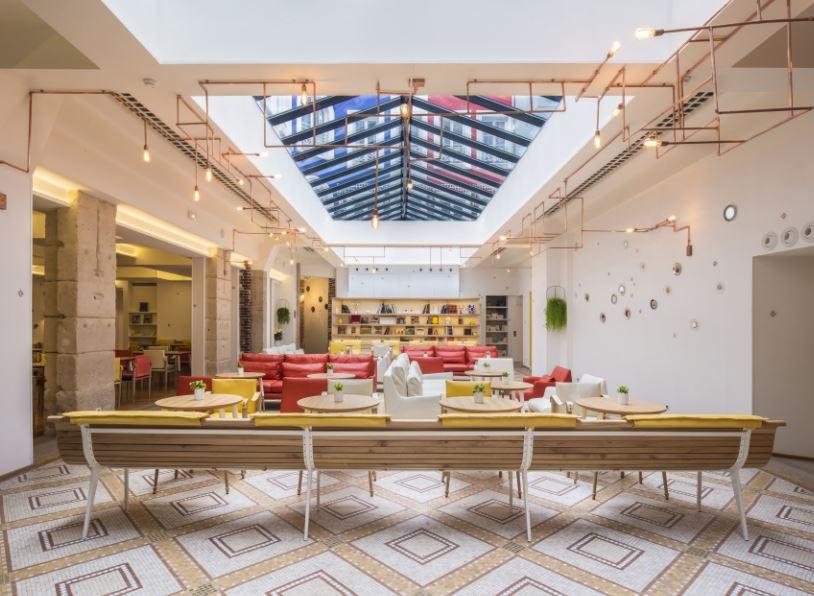 Lounge-Hotel 34B (photo:Guillaume Grasset)