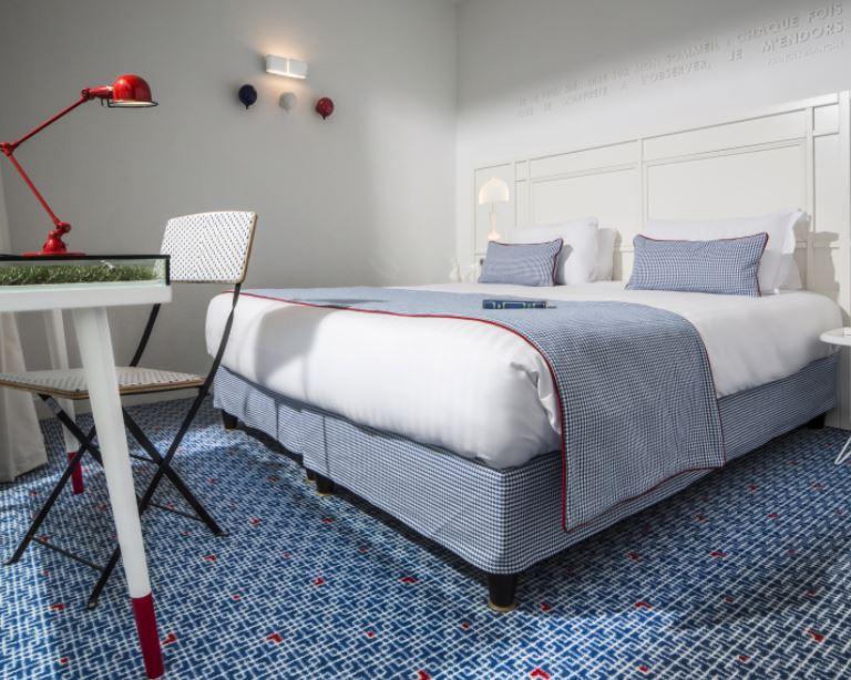 Room-Hotel 34B (photo:Guillaume Grasset)
