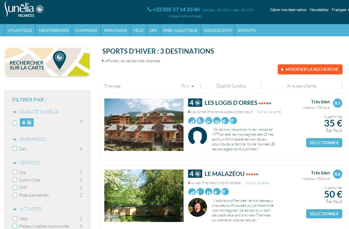Camping : 3 nouveaux sites pour Sunêlia Vacances