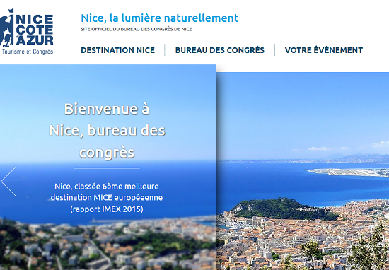 Bureau des Congrès de Nice met en ligne un nouveau site web pour le MICE