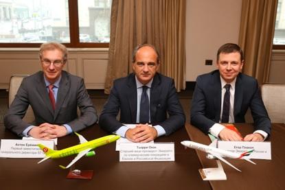 Emirates et S7 ont étendu leur partenariat, le 3 mars 2016 - DR : Emirates