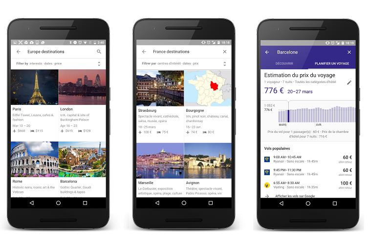 Comment Google veut-il se rendre indispensable aux voyageurs ?