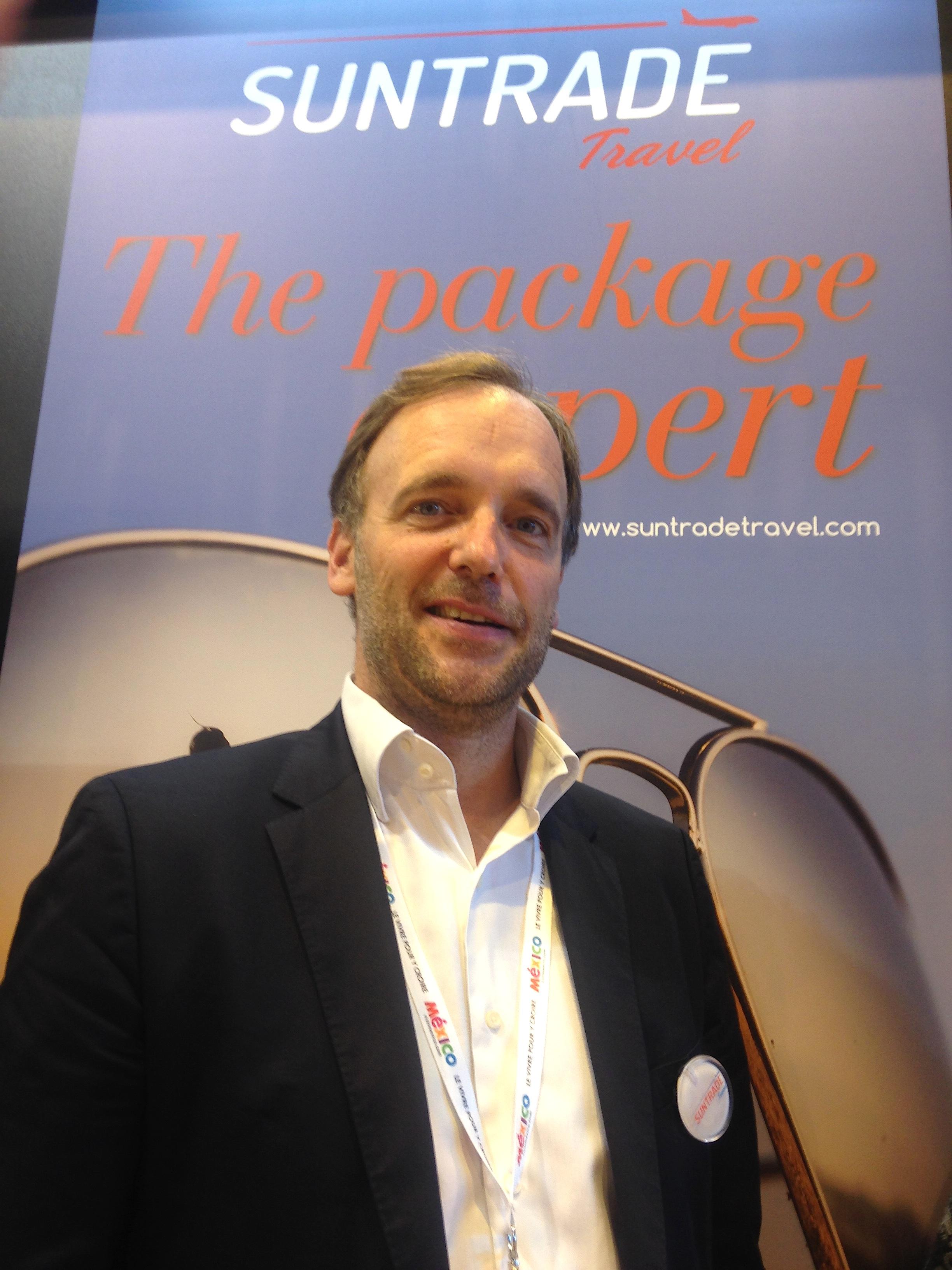 Pierre Schreiber, co-fondateur de Suntrade Travel