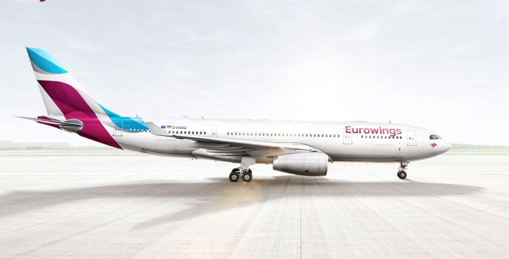 Eurowings va embaucher 700 salariés cette année. DR Eurowings.