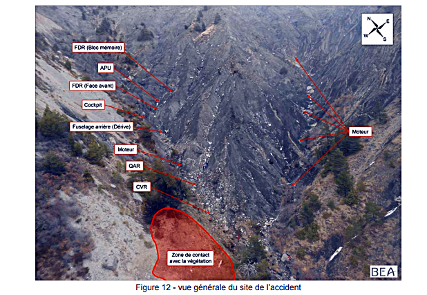 Crash Germanwings : le rapport final d'enquête confirme les troubles mentaux