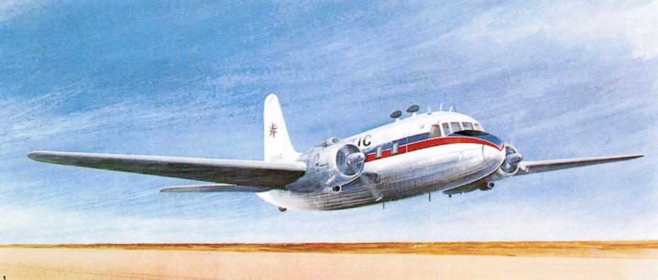 Premier avion affrété par FRAM - DR : Fram
