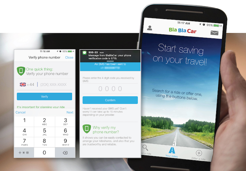 L'API SMS de Nexmo aide BlaBlaCar à garantir une communication parfaite avec ses clients partout dans le monde (c) Nexmo
