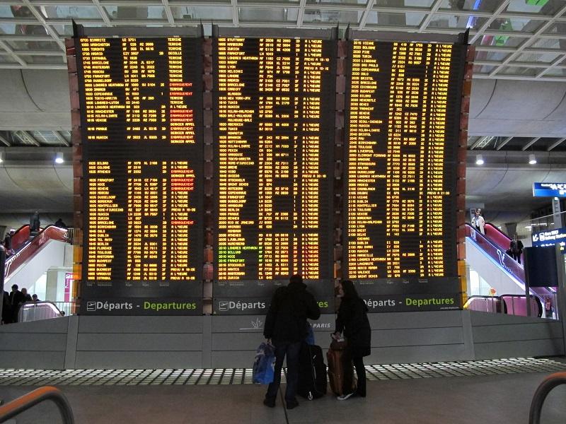 Grève : Ami agents de voyages, affutez vos ordis et vos téléphone, dès aujourd'hui, va falloir faire face à l'ire de passagers bloqués ou retardés ou tout simplement annulés ! - Photo AB