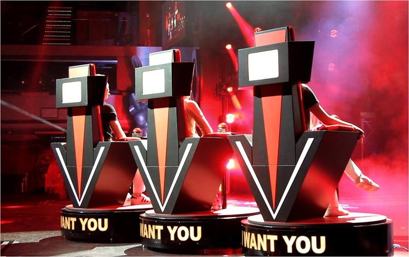 Calqué sur l'émission télé The Voice, ce show met en vedette les passagers -Photo Costa Croisières