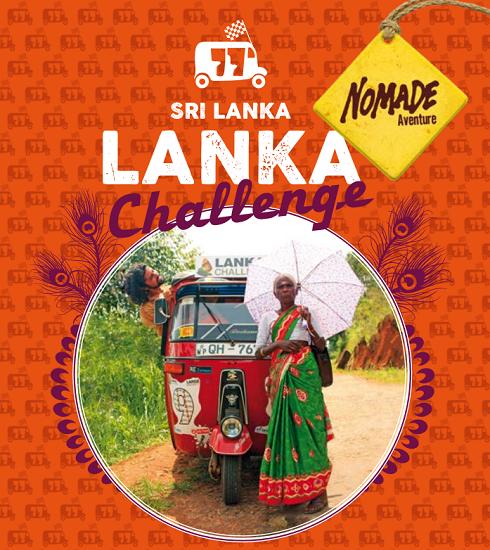 Lanka Challenge : Nomade Aventure partenaire du rallye en tuk tuk à Ceylan !