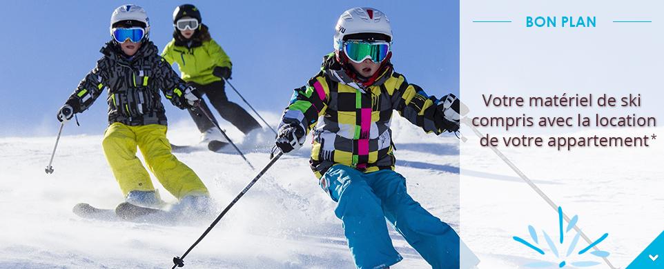 CGH Residences & Spas offre le matériel de ski en avril