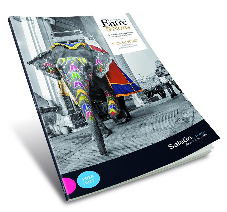 """Salaün Holidays édite son catalogue """"Entre Nous"""" pour 2016-2017"""