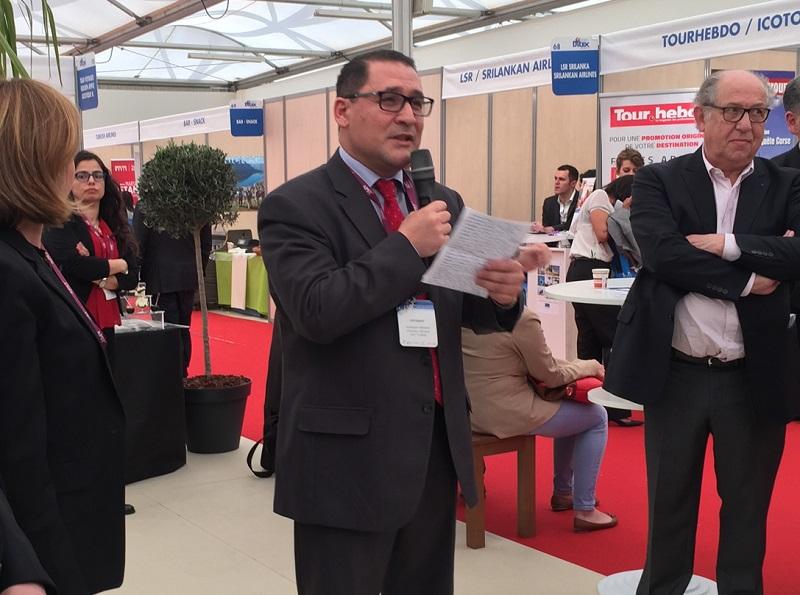 Abdellatif Hammam, Directeur Général de l'Office National du Tourisme Tunisien - Photo JdL