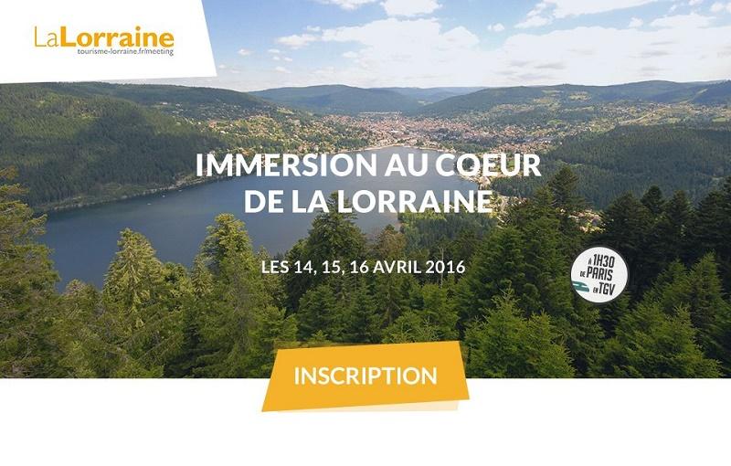 Le CRT Lorraine organise un éductour MICE du 14 au 16 avril 2016