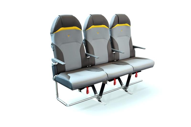 Les nouveaux sièges Titanium Seat ne pèsent que 5 kilos - DR : Expliseat