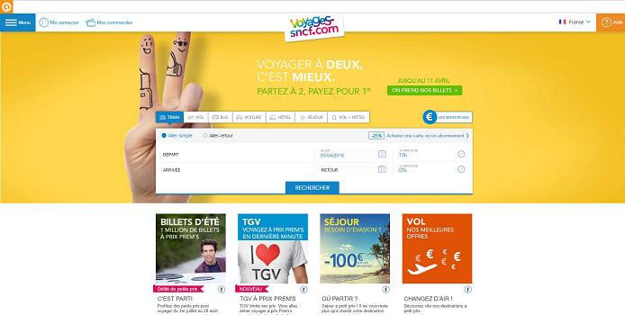 Voyages-sncf lance Mon Voyage, un nouveau service d'accompagnement personnalisé pour ses clients - Capture d'écran