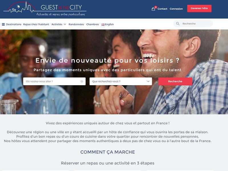 Capture d'écran guestinthecity.com