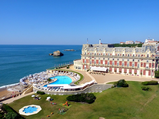 C'est le groupe Four Seasons qui va gérer l'Hôtel du Palais à Biarritz - Photo : Hôtel du Palais