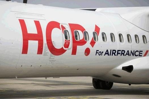 Hop ! Air France volera deux fois par semaine entre Perpignan et Nantes - Photo : Hop !