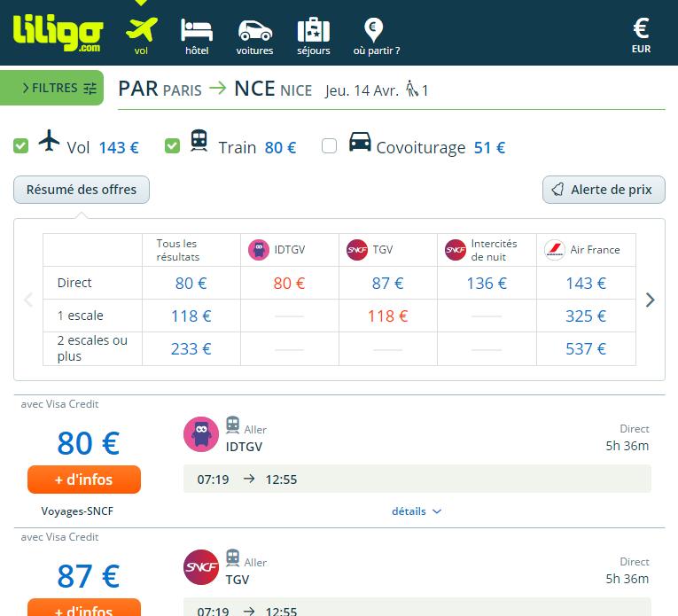 La nouvelle plateforme de liligo.com / capture d'écran liligo