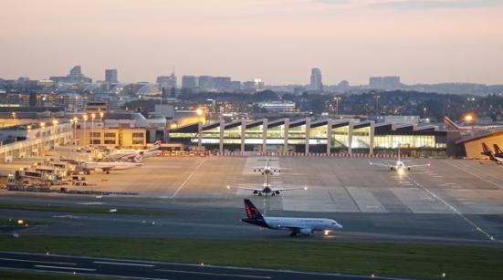 La grève des contrôleurs aériens perturbe le trafic de l'aéroport de Bruxelles-Zaventem - Photo : Brussels Airport